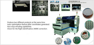 Dual System Smd Led Mounting Machine HT-E8T-1200 Multi - Functional Mounter