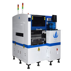 Two Module PCB Pick And Place Machine LED Production Line HT-E5D High Precision