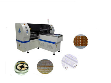 LED Short Strip Light Making Chip Mounter Machine HT-F7 0.02mm Chip Precision