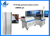 China F9 PCB Pick And Place Machine 200000 CPH One Year Warranty For Panel Light company