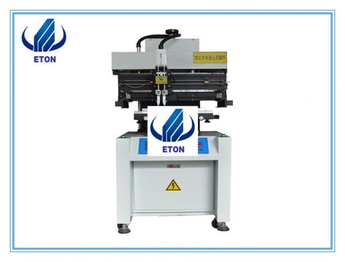 High speed solder paste printer for pcb printing machine , Semi-Auto